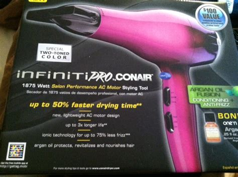 Costco Hair Dryer Conair Recall the conair infiniti pro hairdrying is awesome win a conair retractable brush