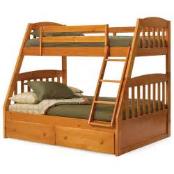 bunk bed queen on bottom woodwork twin over full bunk beds pdf plans