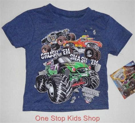 grave digger monster truck merchandise monster jam boys truck 2t 3t 4t 5t tee shirt top grave