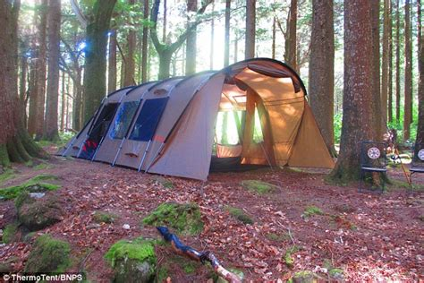 cing gets comfortable insulated tent keeps you warm in