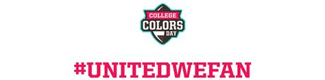 college colors national college color day 2018 my