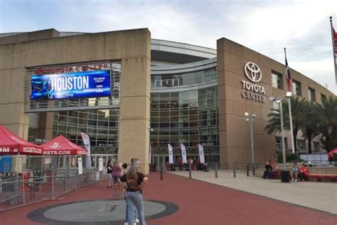 toyota center entrance picture of toyota center houston