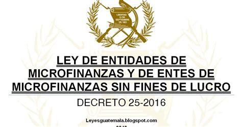 decreto 2423 de 2016 leyes acuerdos y temas de guatemala decreto 25 2016