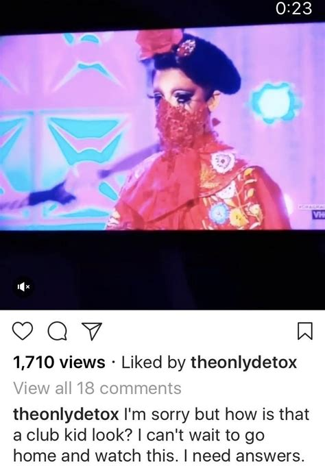Detox And Valentina by Detox Commenting On Valentina S Club Kid Look On