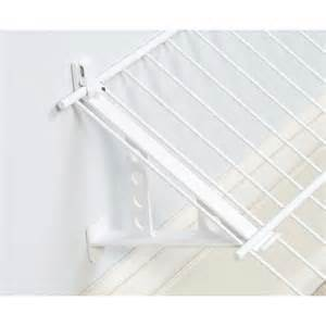 rubbermaid closet brackets shop rubbermaid fixed mount hardware kit at lowes