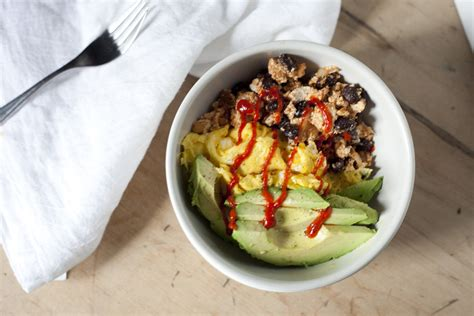 protein bowl protein breakfast power bowl recipe healthfully after