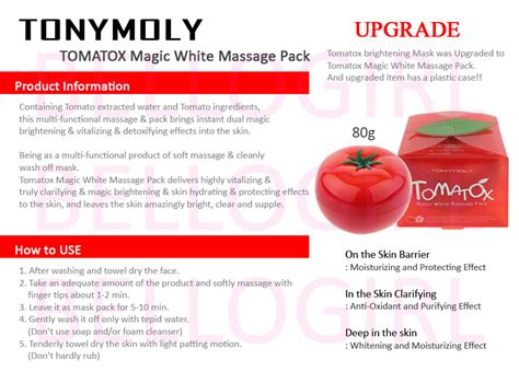 Harga Tony Moly Tomatox aishah s tonymoly tomatox magic white