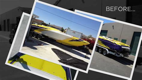 boat wraps california 3m boat wraps by monster image digital printing