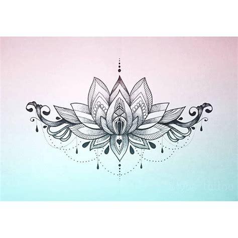 mandala tattoo lower back lotus mandala underboob tattoo buscar con google tats