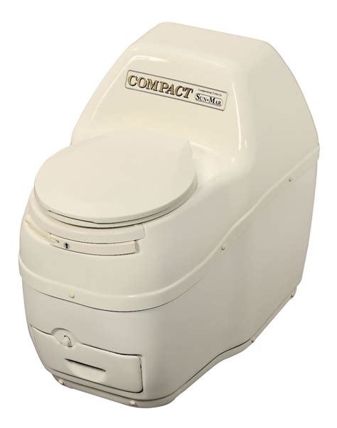 Composting Toilet Home Depot by Sun Mar Compact Electric Composting Toilet In Bone The