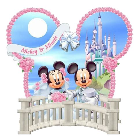 mickey and minnie mouse wedding decorations disney wedding clipart 63
