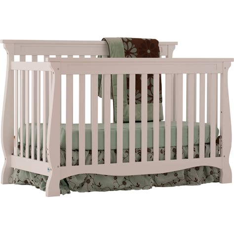 Storkcraft Cribs by Storkcraft Portofino Convertible Crib And Changer Cherry