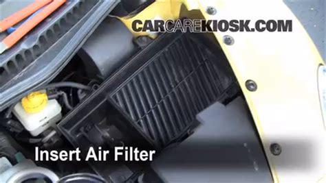 2008 vw beetle 2 5 engine air filter how to 2006 2010 volkswagen beetle 2008