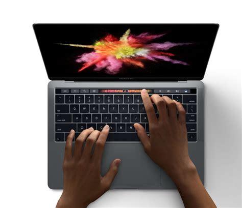 Macbook Pro Touch Bar apple stellt macbook pro mit touch bar vor tastatur neu