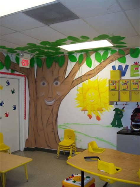 Nursery Classroom Decoration Trees Nursery Wall Decals Stickers For Preschool Kindergarten Classroom Decoration