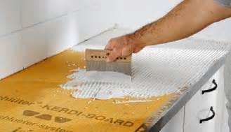 arbeitsplatte selber machen mit mosaikfliesen werden k 252 chen endlich bunt selber