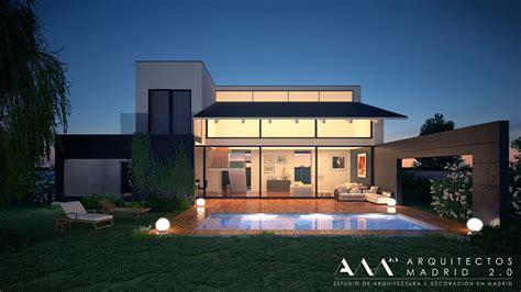 casa de diseno minimalista en madrid casas modernas