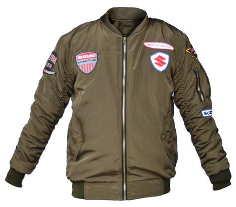 desain jaket bomber keren berikut promo menarik ramadhan dari suzuki termasuk cash