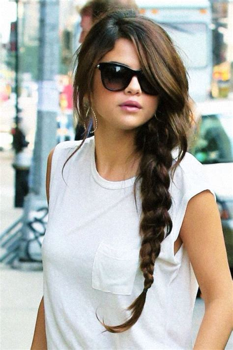 what jesse nice braiding hairstyles long braid selena gomez hair pinterest selena and