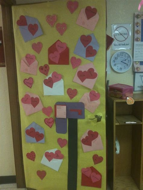 door decorations for valentines s day classroom door business