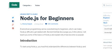 node js tutorial topics best node js tools tutorials and resources code geekz