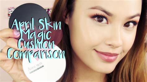 April Skin Bb Cushion Pink april skin magic snow korean cushion comparison and review