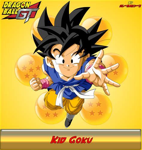 ki goku imagenes whatsapp dbgt kid goku by el maky z on deviantart