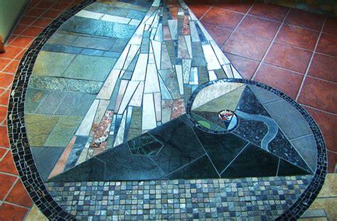 large golden ratio spiral mosaic foyer  risd portfolios