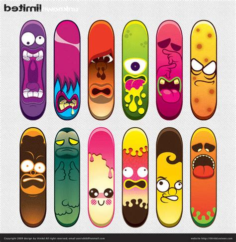 Skateboard Design Ideas by Skateboard Design Ideas 55 Awesome Skateboard Deck Designs Pixel Curse 100 Skateboard