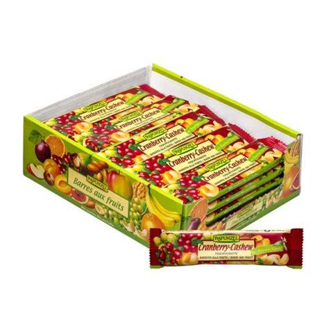 fitness barre cranberry rapunzel barre 233 nerg 233 tique bio cranberry cajou