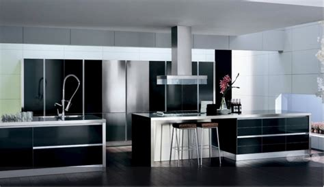 Black And White Kitchen Decor by Black And White Kitchen Decor To Feed Exclusive And Modern