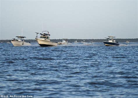 air force boat us air force hires florida fishing boats to play iranians
