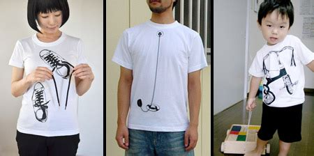 Tshirt Kaos Papa interactive t shirts from japan