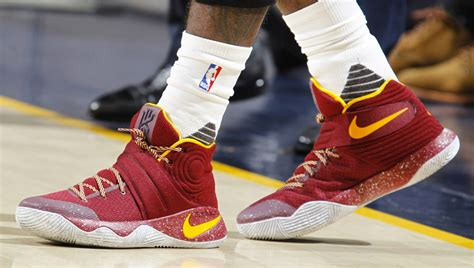 Sepatu Basket Kyrie 3 Cavs Blue Navy Blue Yellow solewatch kyrie irving wears another nike kyrie 2 pe