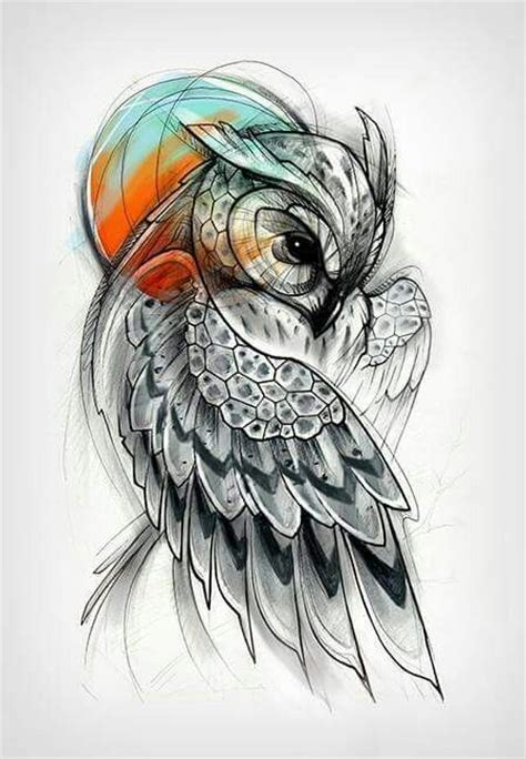 best 25 owl tattoos ideas on pinterest owl thigh