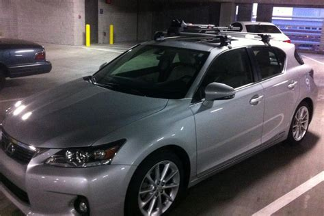 lexus ct200h roof rack roof rack with pictures page 2