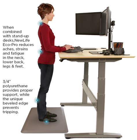 standing desk foot pad floor mats for standing desks standing desk pads gelpro