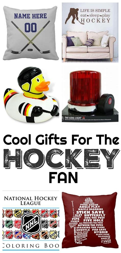 gifts for hockey fans cool gifts for the hockey fan family food and travel