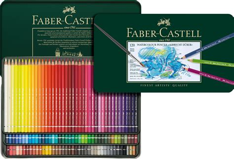 Faber Castell 12 Watercolour Pencils faber castell albrecht durer watercolour pencils tin of 12