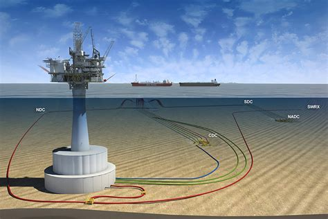 design engineer offshore white roseconcrete gravity sub structure extension project