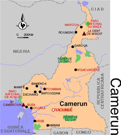 consolato camerun legalizzazioni camerun