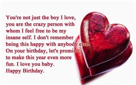 Happy Birthday Quotes For Him Cute Happy Birthday Quotes For Boyfriend This Blog About
