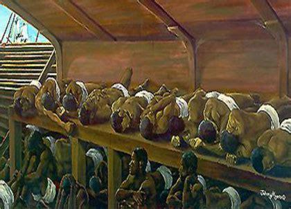 slave boat aboard the boat slave trade