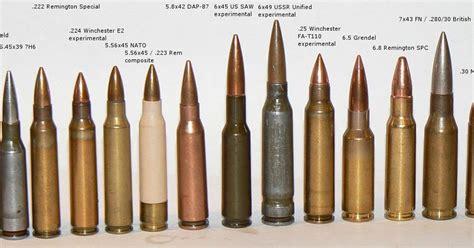 Ammo And Gun Collector Ammo Cartridge Comparison Ammo And Gun Collector Ammunition For Assault Rifles