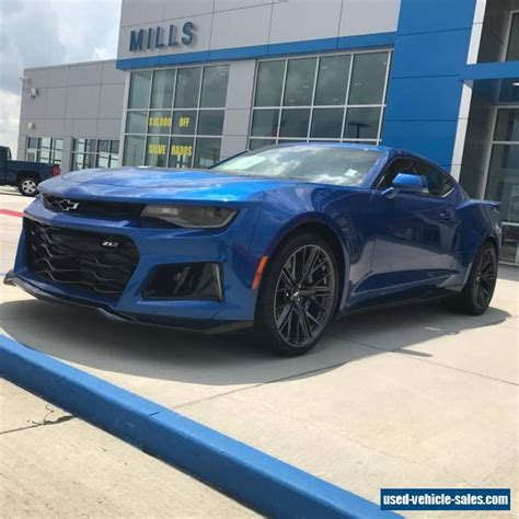 2017 Chevrolet Camaro Zl1 For Sale by 2017 Chevrolet Camaro For Sale In The United States