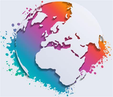 earth map vector earth map vector free vector 3 144 free vector