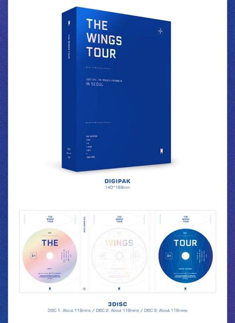 bts the wings tour dvd 2017 bts live trilogy episode iii the wings tour in seoul