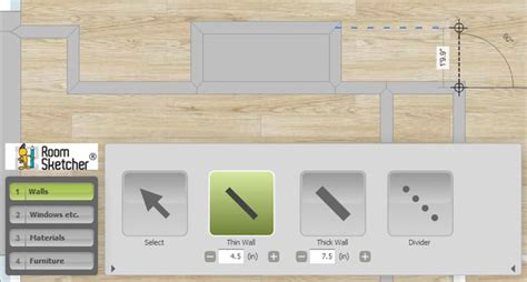 planner roomsketcher create built in shelves in roomsketcher roomsketcher