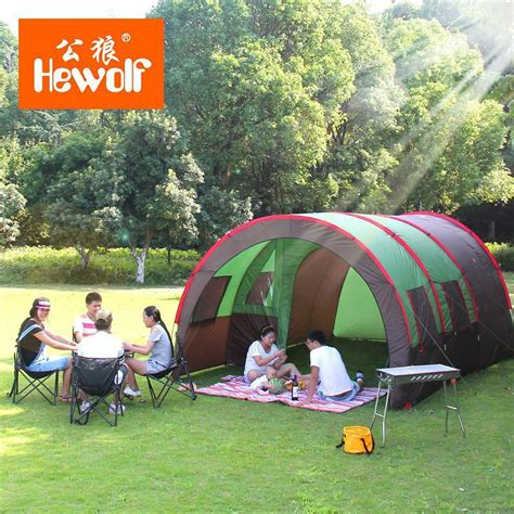 Outdoor Living Room Tent 2015 Ultra Large 2 Bedroom 1 Living Room 6 8 10 Person