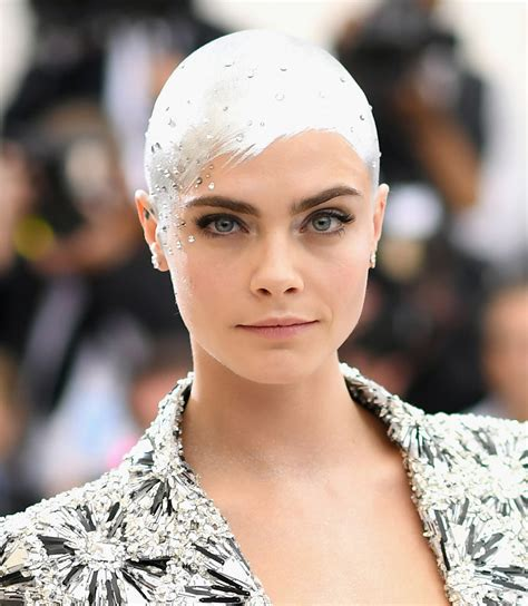 cara delevingne bald short hairstyles lookbook stylebistro